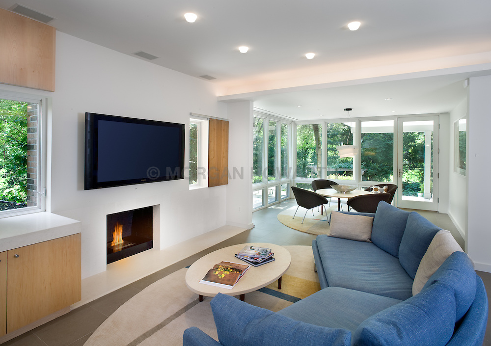 TV,family room,sofa,curved sofa Family room TV room