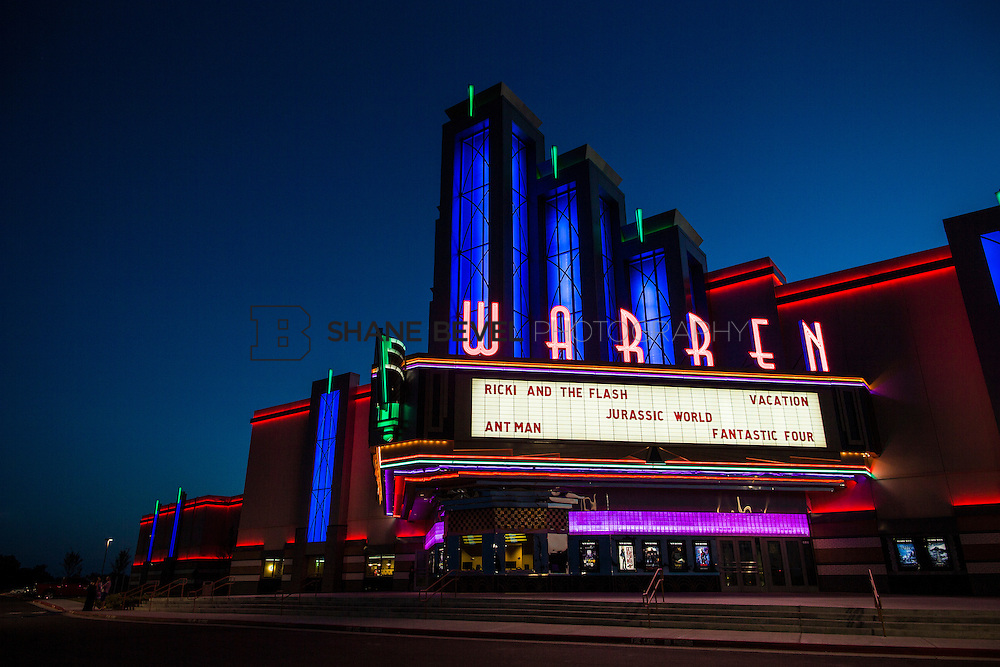 8/10/15 8:39:09 PM --  Exterior photos of the Warren Theatre in Broken Arrow, Oklahoma. <br /> <br /> Photo by Shane Bevel
