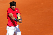 Roland Garros. Paris, France. May 29th 2012.Spanish player Rafael NADAL against Simone BOLELLI.