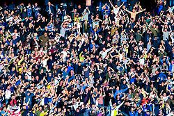 Leeds United fans at full time - Mandatory by-line: Ryan Crockett/JMP - 11/05/2019 - FOOTBALL - Pride Park Stadium - Derby, England - Derby County v Leeds United - Sky Bet Championship Play-off Semi Final 1st Leg
