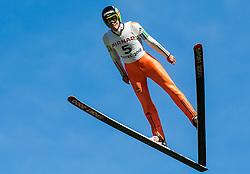 Anže Semenič (SLO) during Ski jumping Summer cup - 45. Revija skokov Mostec on June 4, 2016 in Mostec hill, Ljubljana, Slovenia.Photo by Vid Ponikvar / Sportida
