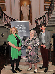 Pictured at Westport House at the launch of Lord Altamount's memoir 'A Life at Westport House 50 Years A Going' were Geraldine nd Enya Egan from Castlebar.<br /> Pic Conor McKeown