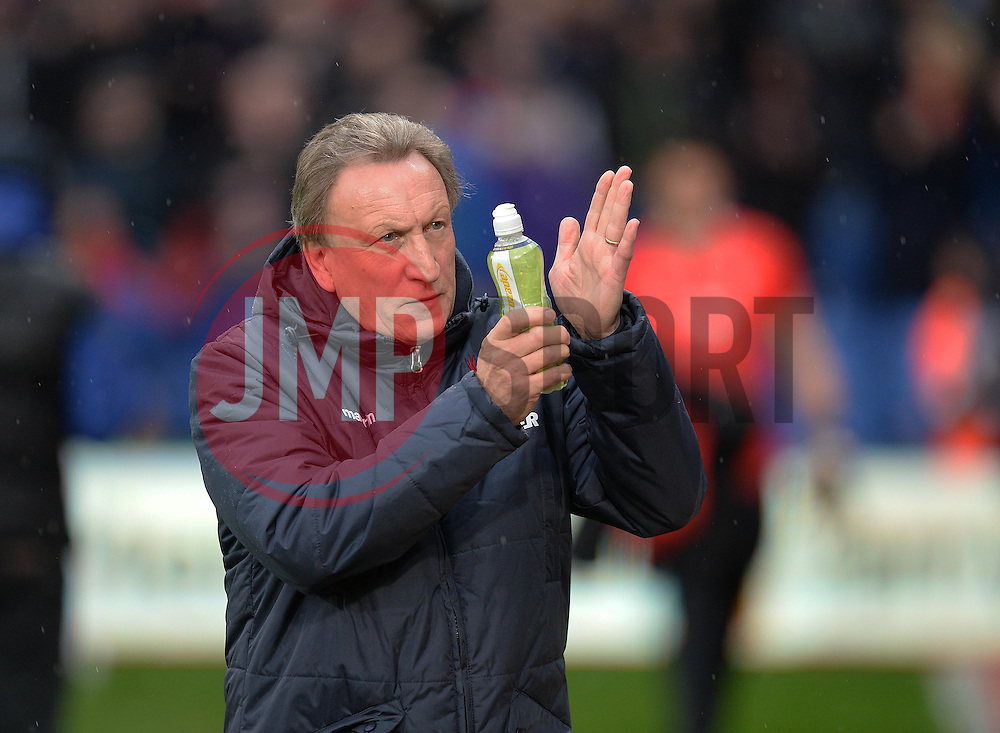 Crystal Palace Manager, Neil Warnock - Photo mandatory by-line: Alex James/JMP - Mobile: 07966 386802 - 23/11/2014 - Sport - Football - London -  - Crystal palace  v Liverpool - Barclays Premier League