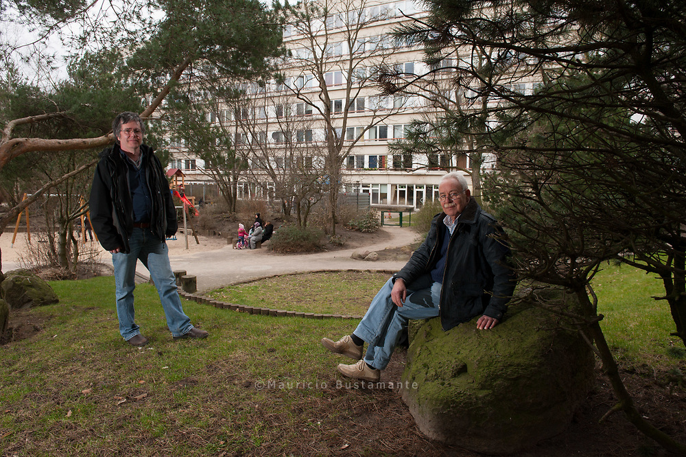 Architekt Rolf Spille, Bewohner Erhard Buschmann, Gropiusring,