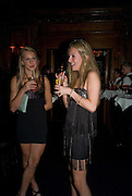 LADY ISABELLA HILL; LUCINDA APTHORP;  , The Tatler Little Black Book party. Tramp. 40 Jermyn St. London SW1 *** Local Caption *** -DO NOT ARCHIVE-© Copyright Photograph by Dafydd Jones. 248 Clapham Rd. London SW9 0PZ. Tel 0207 820 0771. www.dafjones.com.