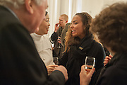 MARIKO MORI; PRINCESS ALIA AL-SENUSSI, Mariko Mori opening, Royal Academy Burlington Gardens Gallery. London. 11 December 2012.