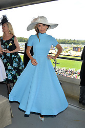 DANIELLE LINEKER at the first day of the 2014 Royal Ascot Racing Festival, Ascot Racecourse, Ascot, Berkshire on 17th June 2014.