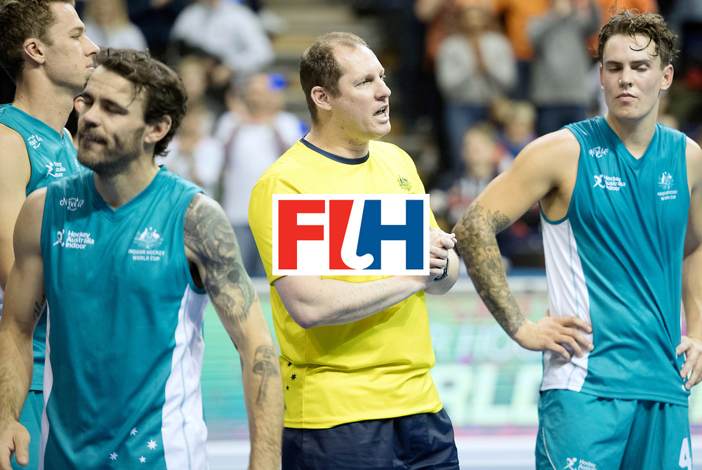 BERLIN - Indoor Hockey World Cup<br /> Bronze: Iran - Australia<br /> foto: Australia lost the 3 the place<br /> WORLDSPORTPICS COPYRIGHT FRANK UIJLENBROEK