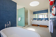 Children's bathroom at Lime Villa 4, a luxury private, ocean view villa, Koh Samui, Surat Thani, Thailand