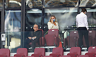 David Sullivan the West Ham Chairman takes a seat  during the Premier League match at the London Stadium, London. Picture date: 20th June 2020. Picture credit should read: David Klein/Sportimage