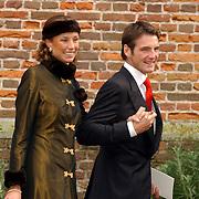 NLD/Naarden/20051022 - Huwelijk prins Floris en Aimee Söhngen, prins Maurits en prinses Marilene