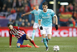 15-03-2016 ESP, UEFA CL, Atletico Madrid - PSV Eindhoven, Madrid<br /> PSV Eindhoven's Hector Moreno // during the UEFA Champions League Round of 16, 2nd Leg match between Atletico Madrid and PSV Eindhoven at the Estadio Vicente Calderon in Madrid, Spain on 2016/03/15. <br /> <br /> ***NETHERLANDS ONLY***
