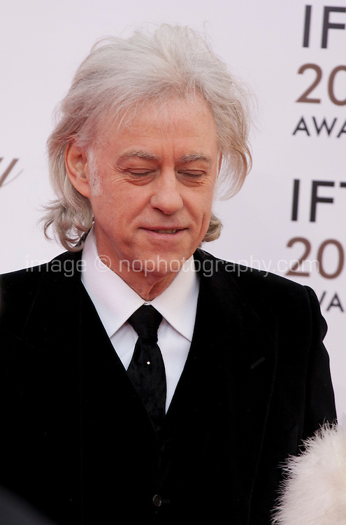 Bob Geldof at the IFTA Film & Drama Awards (The Irish Film & Television Academy) at the Mansion House in Dublin, Ireland, Saturday 9th April 2016. Photographer: Doreen Kennedy