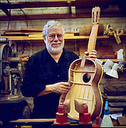 John Mello, guitar maker
