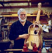 John Mello, guitar maker