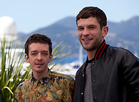 Actors Arnaud Valois and Nahuel Perez Biscayart, at the 120 Beats per Minute (120 Battements Par Minute)  film photo call at the 70th Cannes Film Festival Saturday 20th May 2017, Cannes, France. Photo credit: Doreen Kennedy