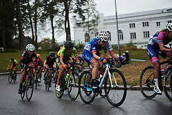 Rozanne Slik (NED) with two laps to go at Ladies Tour of Norway 2018 Stage 2, a 127.7 km road race from Fredrikstad to Sarpsborg, Norway on August 18, 2018. Photo by Sean Robinson/velofocus.com