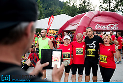 Jure Kosir at 10th Nocna 10ka 2016, traditional run around Bled's lake, on July 09, 2016 in Bled,  Slovenia. Photo by Vid Ponikvar / Sportida