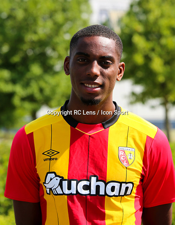Thomas Ephestion during photoshooting of RC Lens for new season 2017/2018 on October 5, 2017 in Lens, France<br /> Photo by RC Lens / Icon Sport