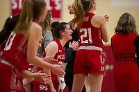 St Paul's School girls varsity Basketball.  ©2020 Karen Bobotas Photographer