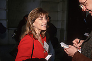 Freshman Congressional Representative Loretta Sanchez speaks to the media November 15, 1996 In Washington DC.