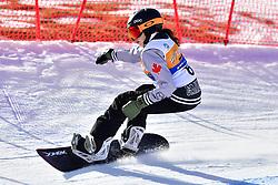 HAMEL Sandrine, SB-LL2, CAN, Snowboard Cross at the WPSB_2019 Para Snowboard World Cup, La Molina, Spain
