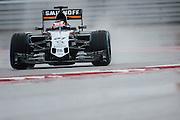 October 23-25, 2015: United States GP 2015: Nico Hulkenberg (GER), Force India-Mercedes