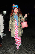 22.FEBRUARY.2011. LONDON<br /> <br /> PALOMA FAITH LEAVING SOMERSET HOUSE FOR LONDON FASHION WEEK 2011 IN LONDON<br /> <br /> BYLINE: EDBIMAGEARCHIVE.COM<br /> <br /> *THIS IMAGE IS STRICTLY FOR UK NEWSPAPERS AND MAGAZINES ONLY*<br /> *FOR WORLD WIDE SALES AND WEB USE PLEASE CONTACT EDBIMAGEARCHIVE - 0208 954 5968*