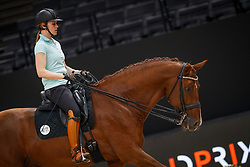 Witte-Vrees Madeleine, NED, Cennin<br /> LONGINES FEI World Cup™ Finals Paris 2018<br /> © Dirk Caremans<br /> 12/04/2018