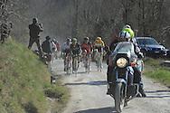Strade Bianche gara per professionisti a Siena, 7 Marzo 2015 © foto Daniele Mosna