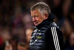 Sheffield United manager Chris Wilder - Mandatory by-line: Robbie Stephenson/JMP - 24/11/2019 - FOOTBALL - Bramall Lane - Sheffield, England - Sheffield United v Manchester United - Premier League
