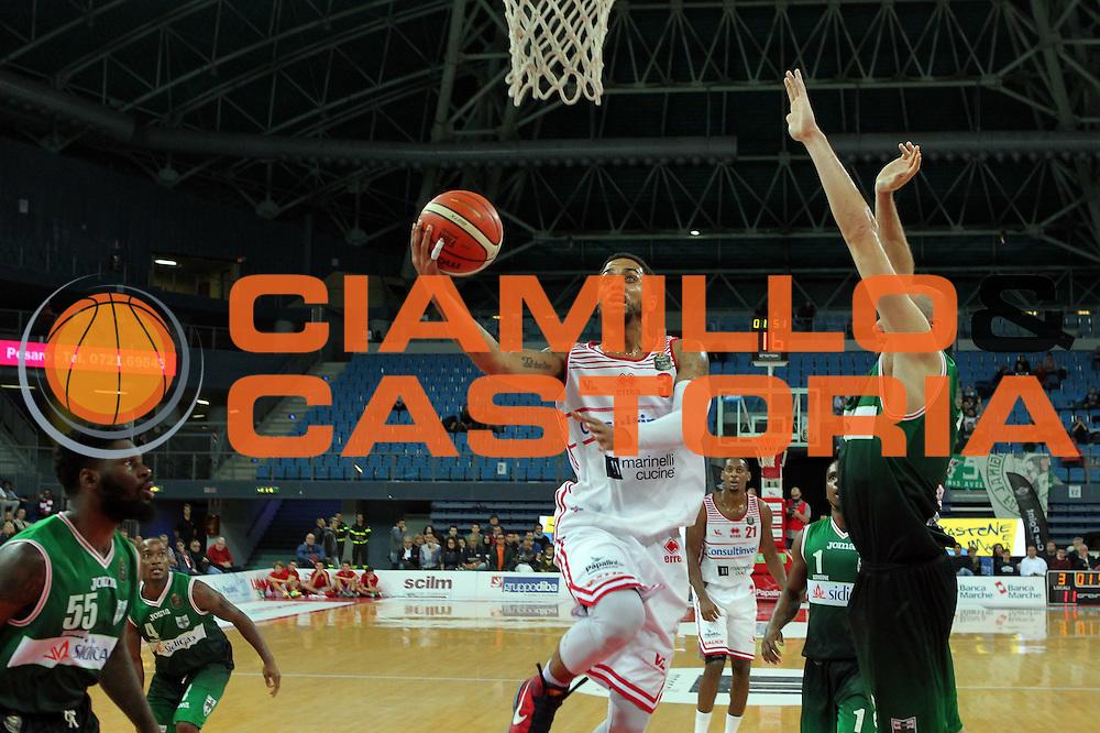 Fields Brandon<br /> Consultinvest VL Pesaro - Sidigas Avellino <br /> Lega BasketSerie A 2016/2017<br /> Pesaro 23102016