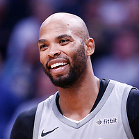 05 April 2018: Minnesota Timberwolves forward Taj Gibson (67) is seen during the Denver Nuggets 100-96 victory over the Minnesota Timberwolves, at the Pepsi Center, Denver, Colorado, USA.