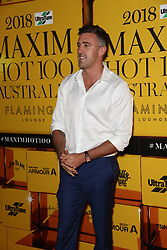 Celebrities and VIPs attend the 2018 Maxim Hot 100 Australia party at Flamingo Lounge, 33 Bayswater Road, Potts Point, with the dress code theme 'a touch of gold'. 16 Nov 2018 Pictured: Luke McLeod. Photo credit: Richard Milnes / MEGA TheMegaAgency.com +1 888 505 6342