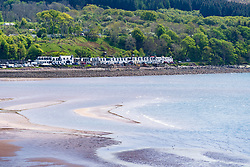 Applecross on the North Coast 500 tourist motoring route in northern Scotland, UK