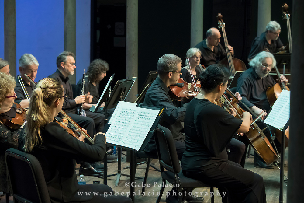 Orchestra of St. Luke&rsquo;s, with Bernard Labadie, Principal Conductor Designate, perform All-Mozart in the Venetian Theater at Caramoor in Katonah New York on July 2, 2017. <br /> (photo by Gabe Palacio)
