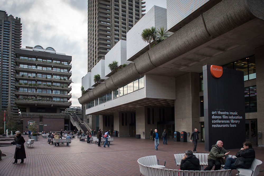 The Barbican Centre, London, UK.<br /> Photo&copy;Steve Forrest/Workers' Photos