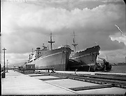 Irish Pine and Irish Cedar Ships at Alexandra Basin.12/05/1958
