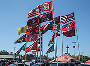 Oct 07, 2018; Santa Clara, CA, USA; San Francisco fans tailgating prior to an NFL game between San Francisco 49ers and the Arizona Cardinals at Levi's Stadium. (Spencer Allen/Image of Sport)