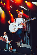 Jesse Hughes/Eagles of Death Metal performing live at the Rock A Field festival in Roeser, Luxembourg on July 4, 2015
