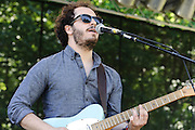 Photos of the band Fort Lean performing at The Great GoogaMooga festival at Prospect Park in Brooklyn, NY. May 19, 2012. Copyright © 2012 Matthew Eisman. All Rights Reserved.