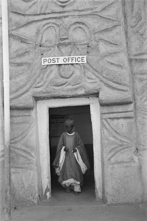 Post Office, Kano, Nigeria, Africa, 1937