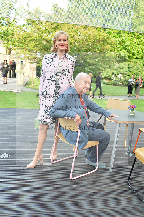 Sir Terence & Lady Conran at the Dulwich Picture Gallery's inaugural Summer Party, Dulwich Picture Gallery, College Road, London England. 13 June 2017.