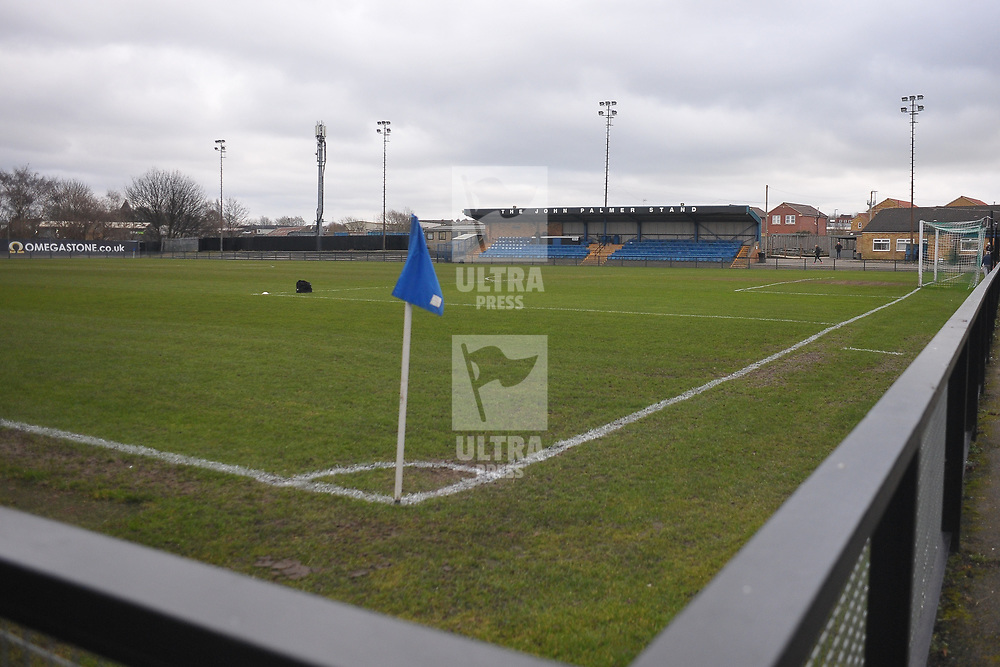 TELFORD COPYRIGHT MIKE SHERIDAN General view during the Vanarama Conference North fixture between AFC Telford United and Farsley Celtic at The Citadel on Saturday, January 25, 2020.<br /> <br /> Picture credit: Mike Sheridan/Ultrapress<br /> <br /> MS201920-042
