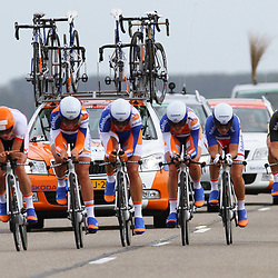 Brainwash Ladiestour Dronten Team Time Trail Rabobank 3th