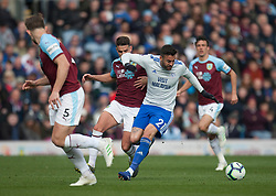 Victor Camarasa of Cardiff City (C) in action - Mandatory by-line: Jack Phillips/JMP - 13/04/2019 - FOOTBALL - Turf Moor - Burnley, England - Burnley v Cardiff City - English Premier League