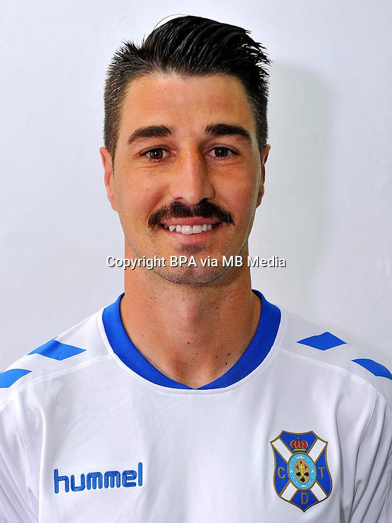 Spain - La Liga B 123 _ 2016-2017 / <br /> ( Club Deportivo Tenerife ) - <br /> Alejandro Garcia Pena &quot; Alex Garcia &quot;