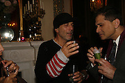 Ron Arad, PARTY AFTER THE OPENING OF THE ANISH KAPOOR EXHIBITION AT THE LISSON GALLERY. Duchess Palace, 16 Mansfield St. London. W1. 10 October 2006. -DO NOT ARCHIVE-© Copyright Photograph by Dafydd Jones 66 Stockwell Park Rd. London SW9 0DA Tel 020 7733 0108 www.dafjones.com