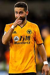 Joao Moutinho of Wolverhampton Wanderers gestures - Mandatory by-line: Robbie Stephenson/JMP - 19/08/2019 - FOOTBALL - Molineux - Wolverhampton, England - Wolverhampton Wanderers v Manchester United - Premier League