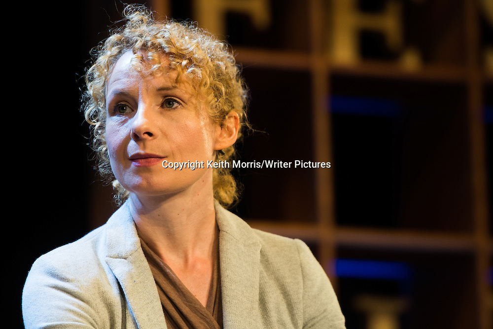 Beatrice Dorothy &quot;Bee&quot; Wilson,  British food writer, journalist and historian and the author of five books on food-related subjects.. The Hay Festival of Literature and the Arts, Hay on Wye, Powys, Wales UK, June 01 2016<br /> <br /> Picture by Keith Morris/Writer Pictures